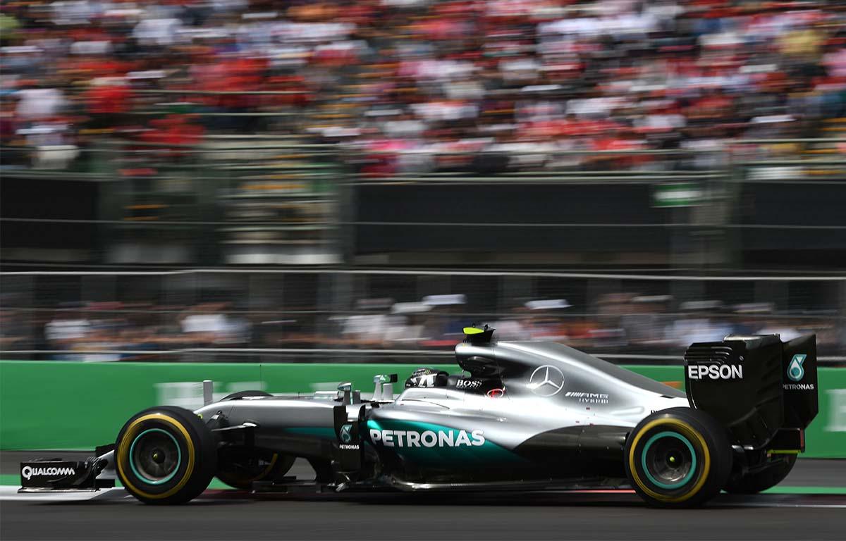 Mercedes W07 2016 Nico Rosberg PA