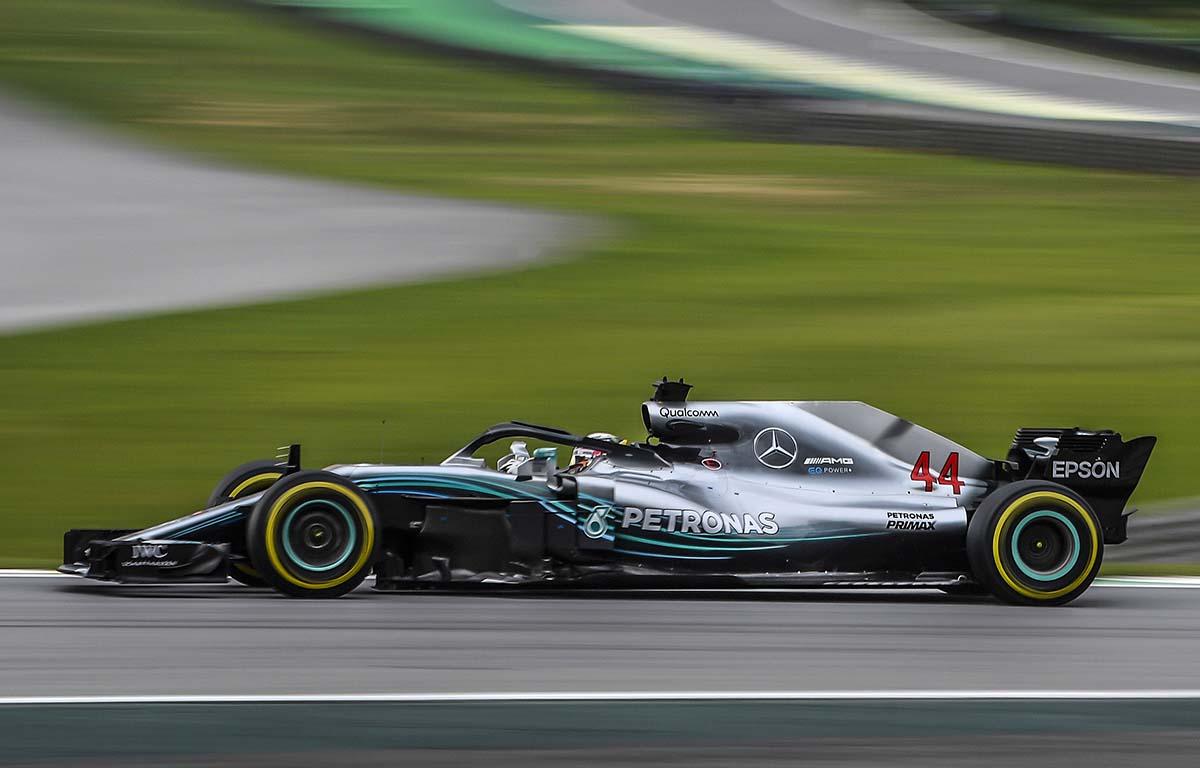 Mercedes W09 2018 Lewis Hamilton PA