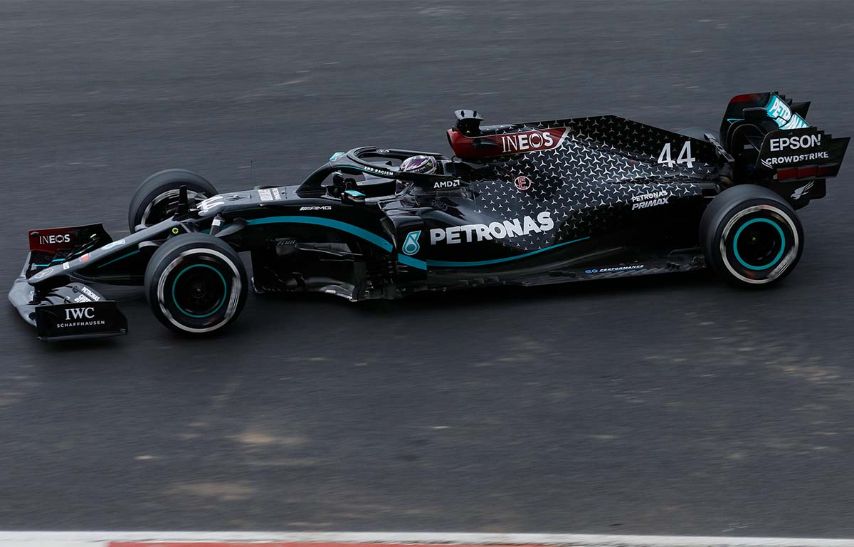 Mercedes W11 2020 Lewis Hamilton PA