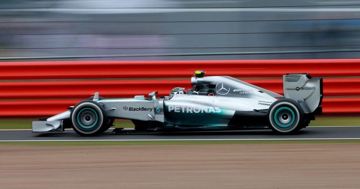 Mercedes W05 2014 Nico Rosberg PA