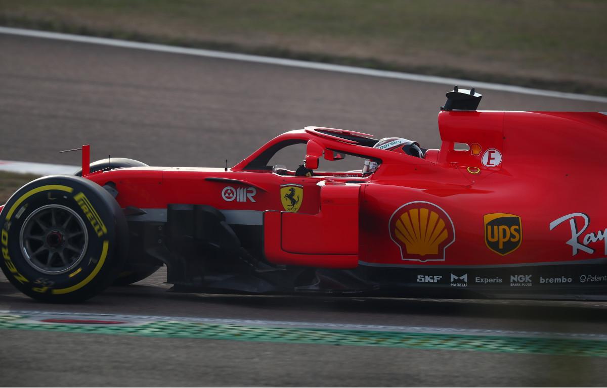 Callum Ilott Ferrari test