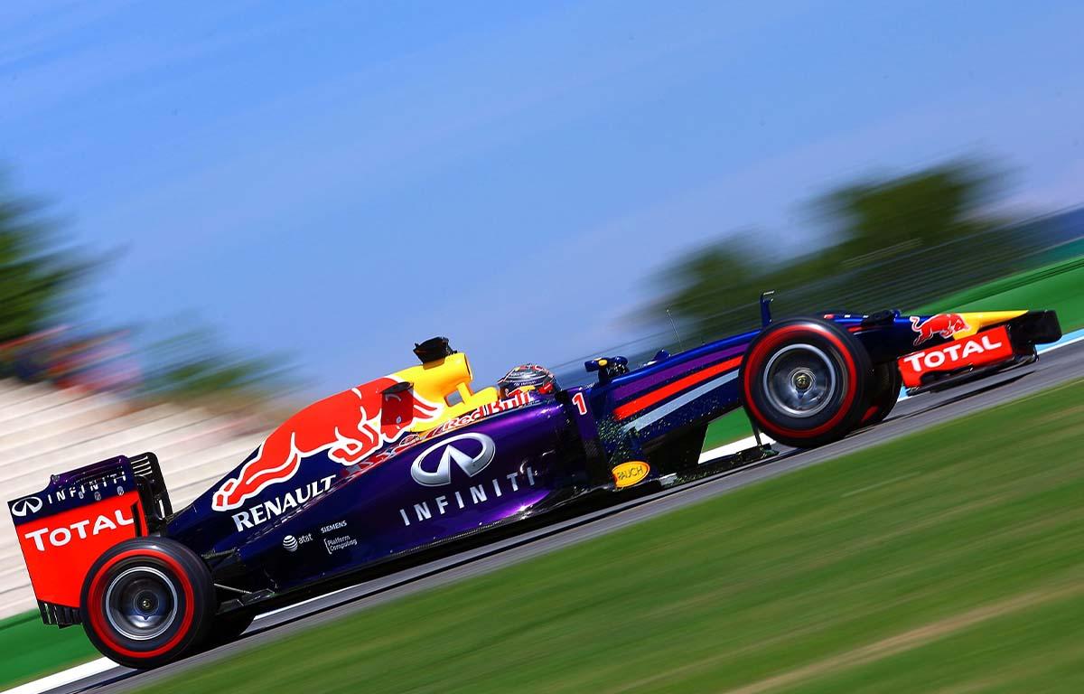 Red Bull RB10 Sebastian Vettel PA