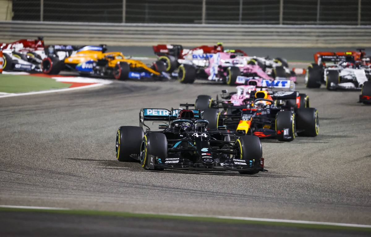 Formula 1 Mercedes lead the pack
