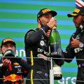 Eifel Grand Prix podium