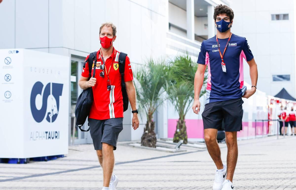 Sebastian Vettel Lance Paseo