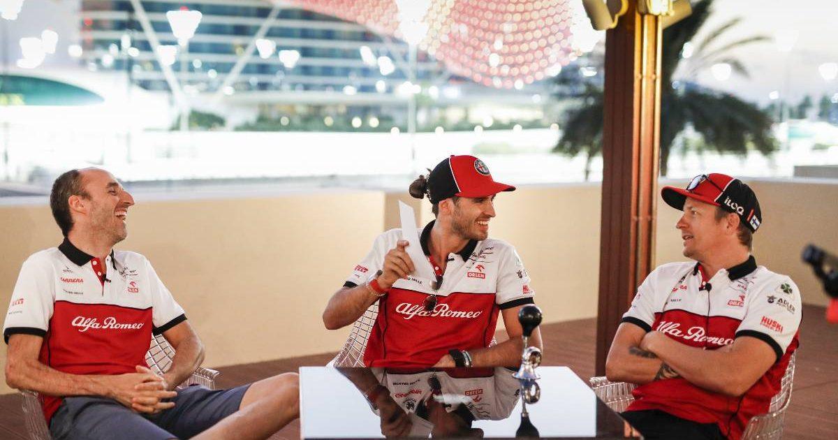 Alfa Romeo 2020 Robert Kubica, Antonio Giovinazzi, Kimi Raikkonen