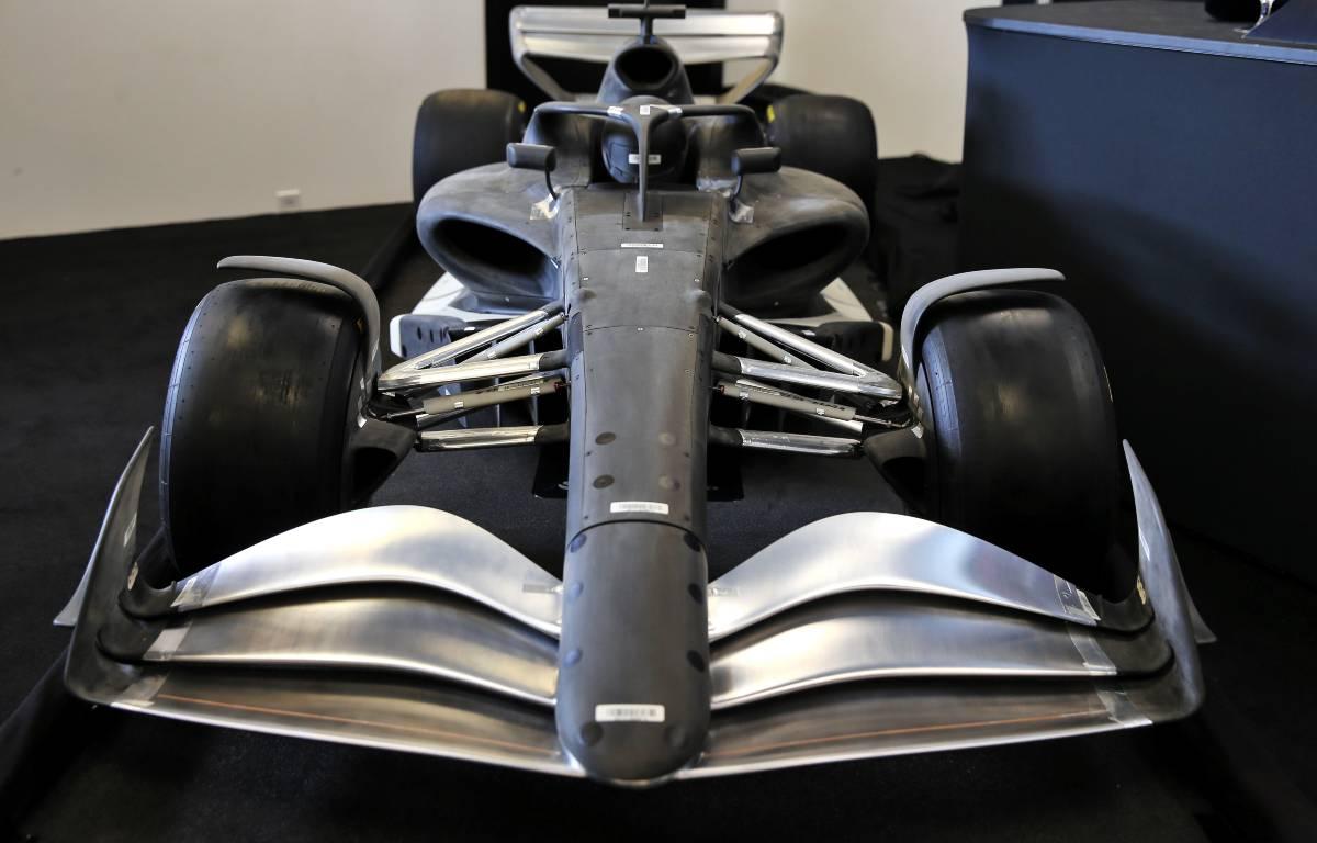 Modelo de coche de Fórmula 1 2022