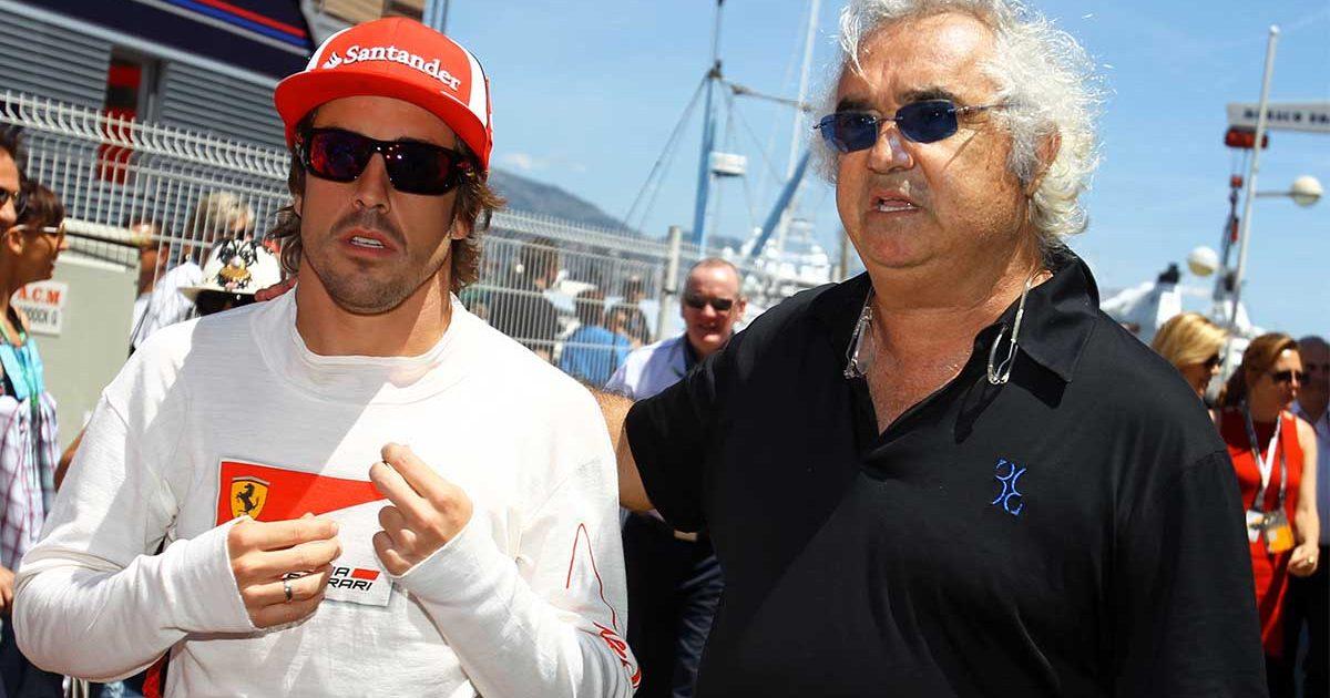 Flavio Briatore Fernando Alonso PA
