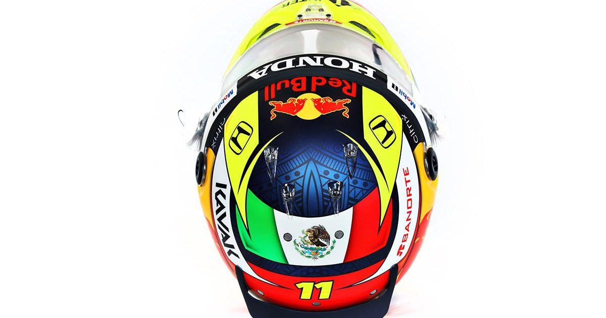 Sergio Perez helmet