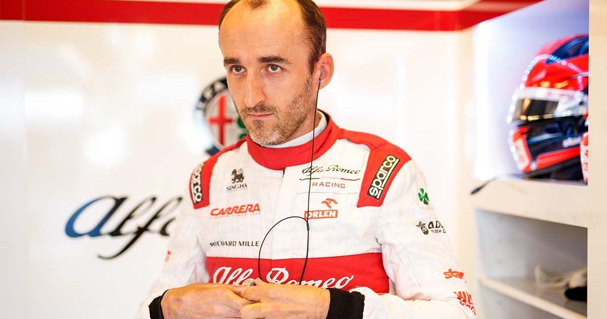 Robert Kubica Alfa Romeo PA