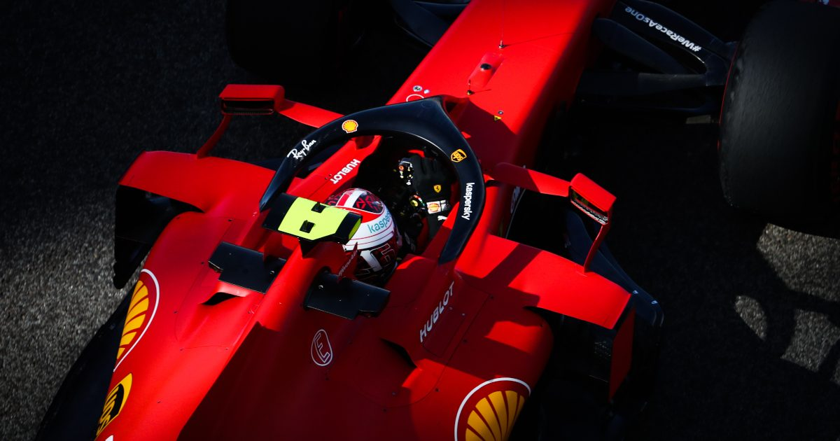 Ferrari and Charles Leclerc