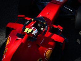 Ferrari and Charles Leclerc