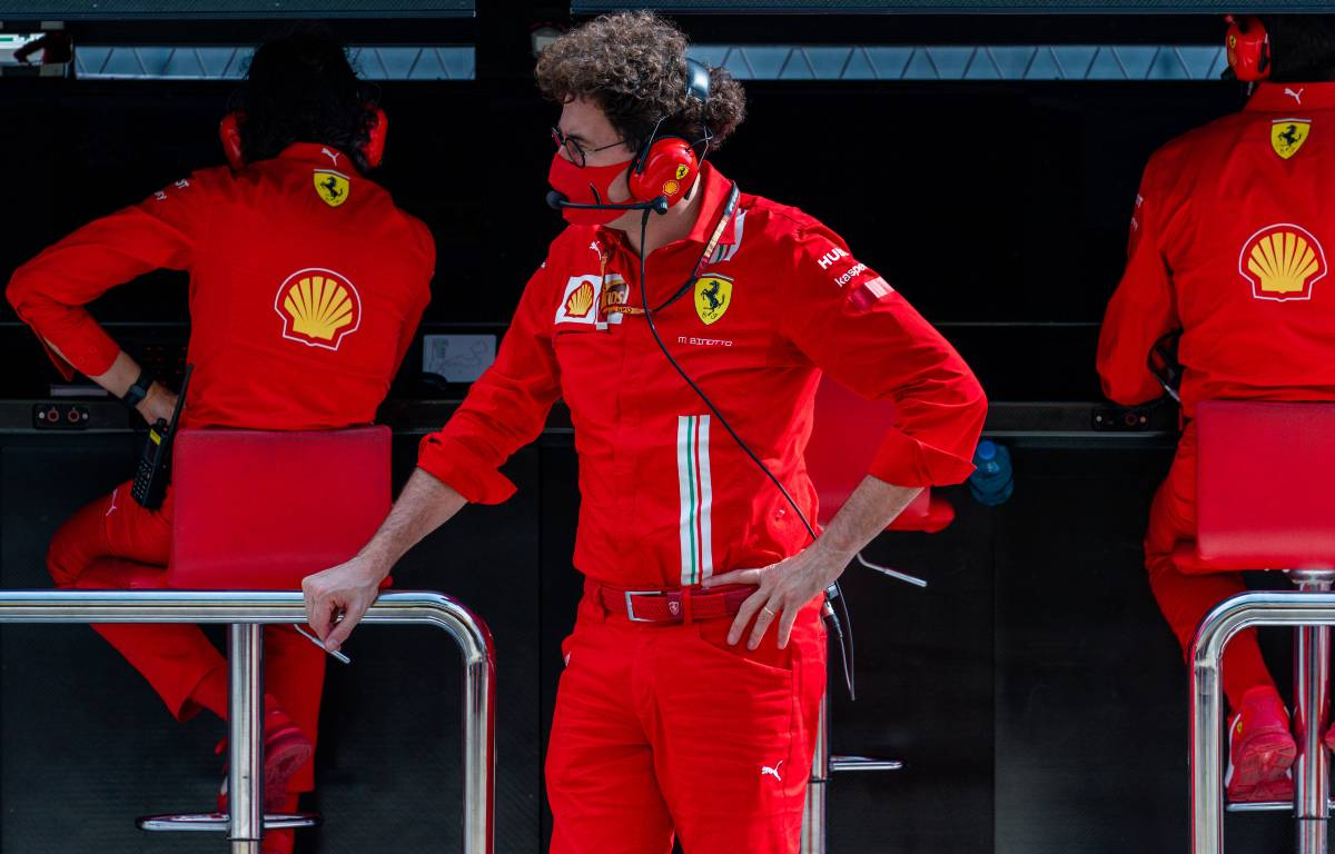 Mattia Binotto Ferrari team principal