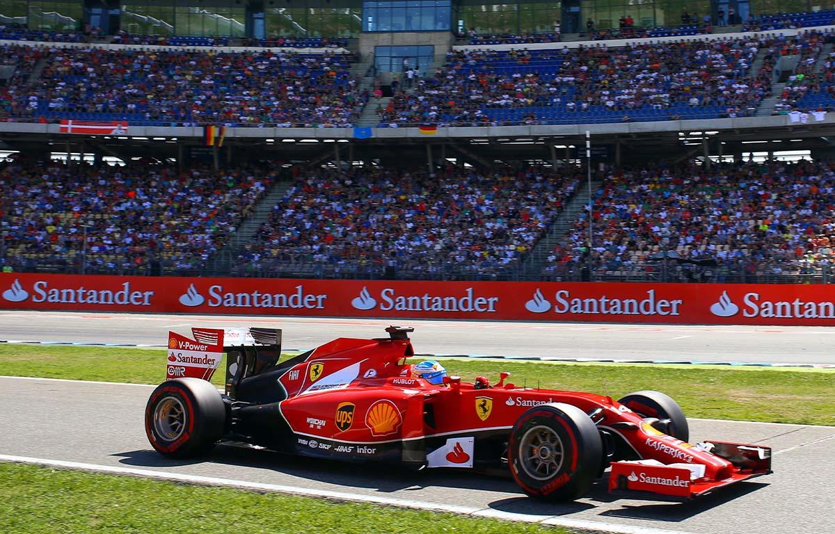 Ferrari F14 T Fernando Alonso PA