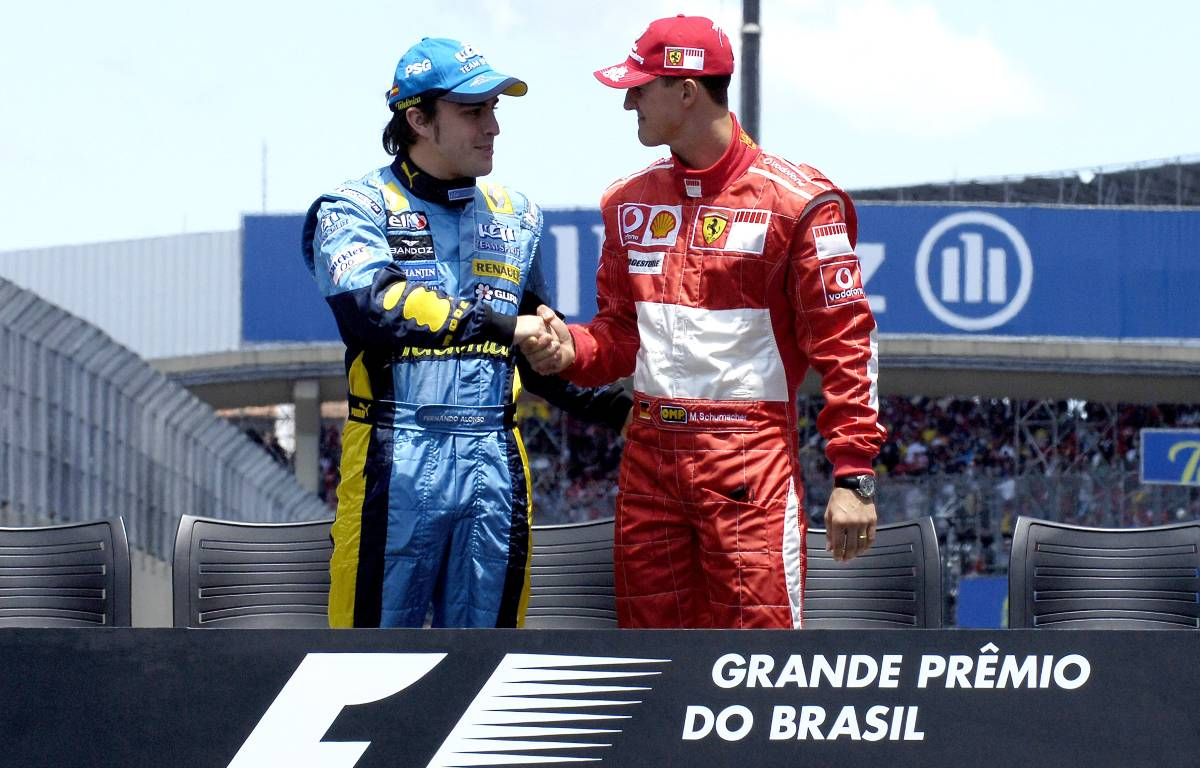 Fernando Alonso Michael Schumacher