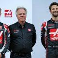 Kevin Magnussen, Gene Haas, Romain Grosjean