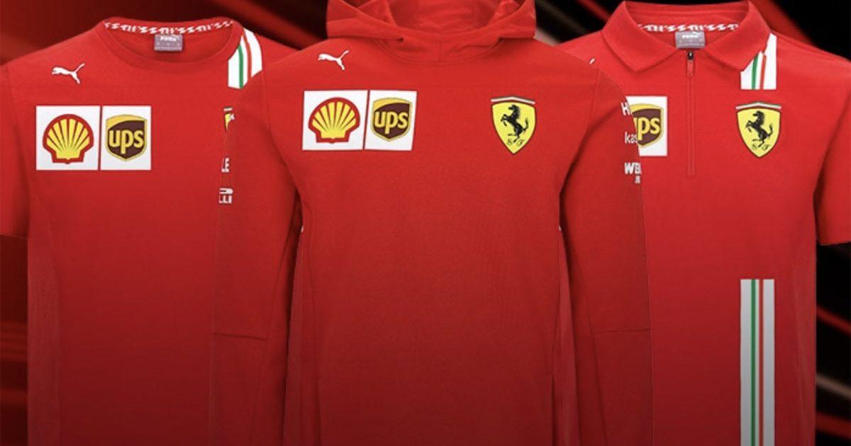 Ferrari Launch Merchandise Range For 2021 F1 Season