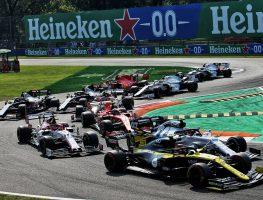 Italian Grand Prix start