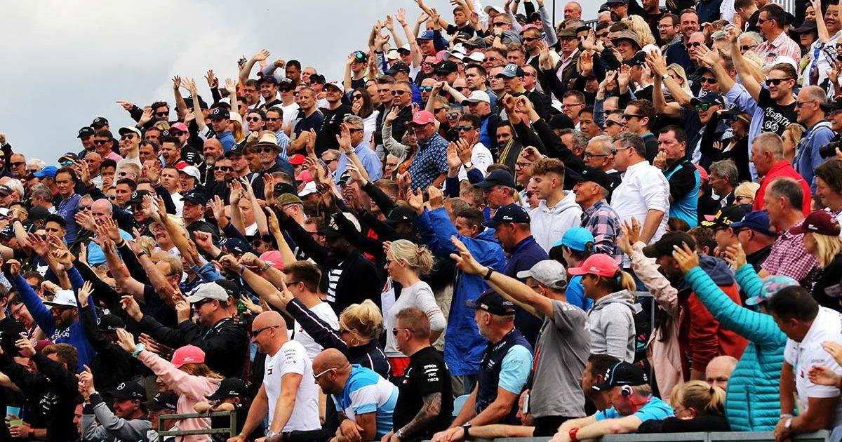 Silverstone grandstand PA
