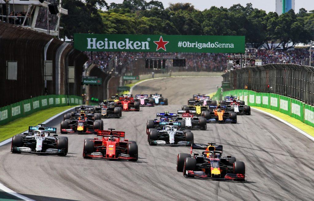 2019 Brazilian Grand Prix start
