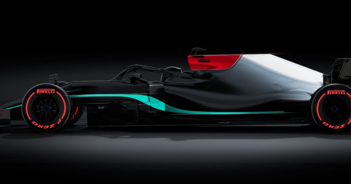 Mercedes W12 teaser