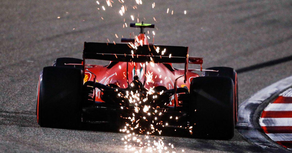 Ferrari sparks