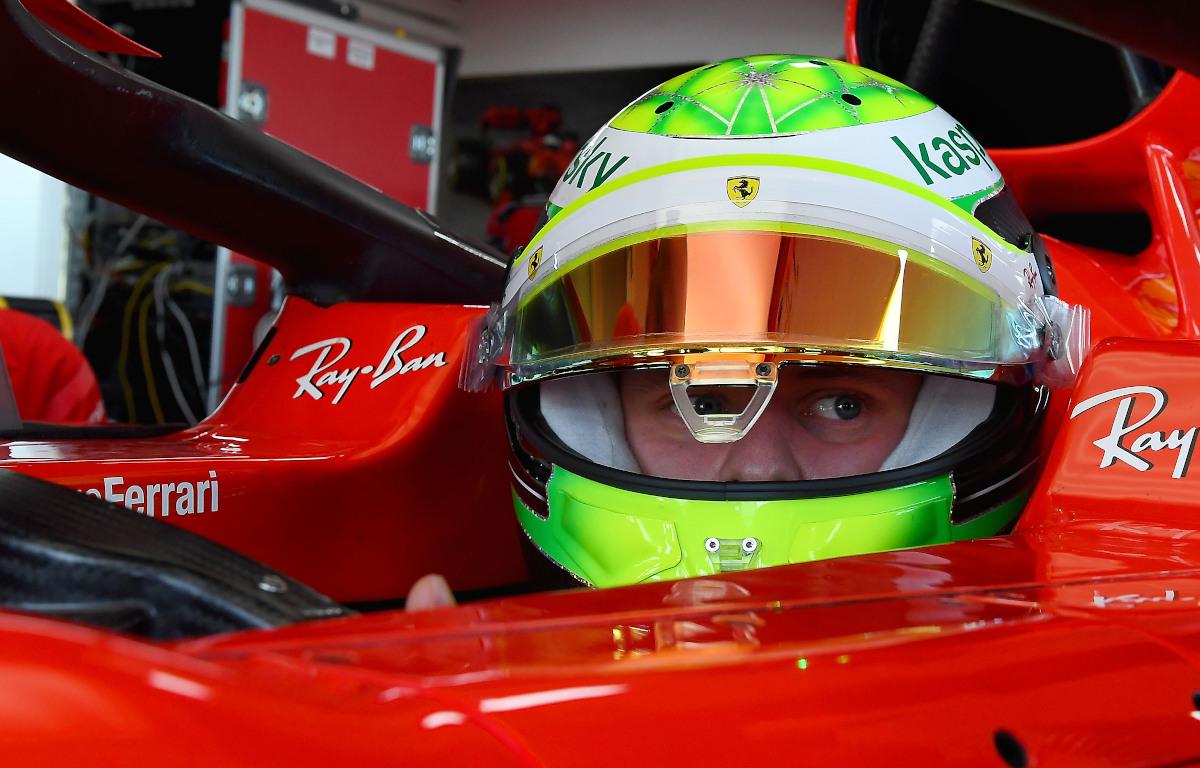 Mick Schumacher Ferrari