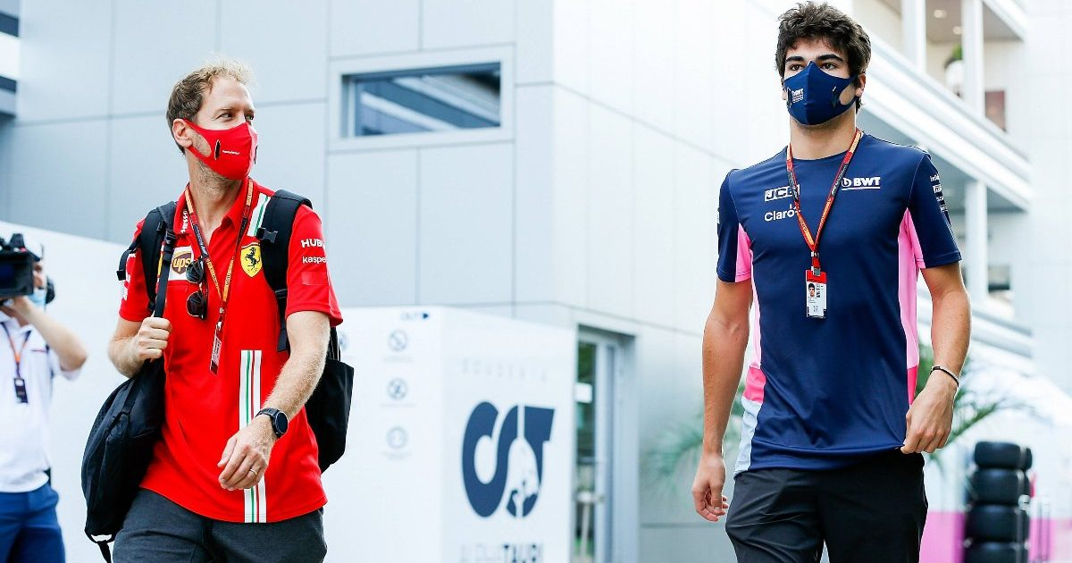 Sebastian Vettel Lance Stroll