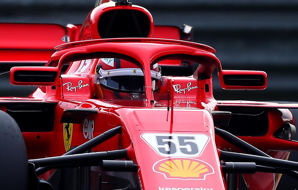 Carlos Sainz Ferrari SF71H tests
