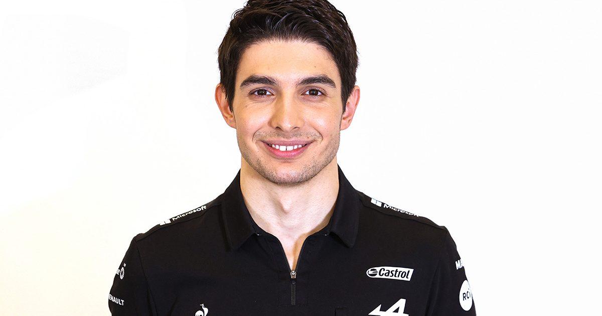Esteban Ocon Alpine