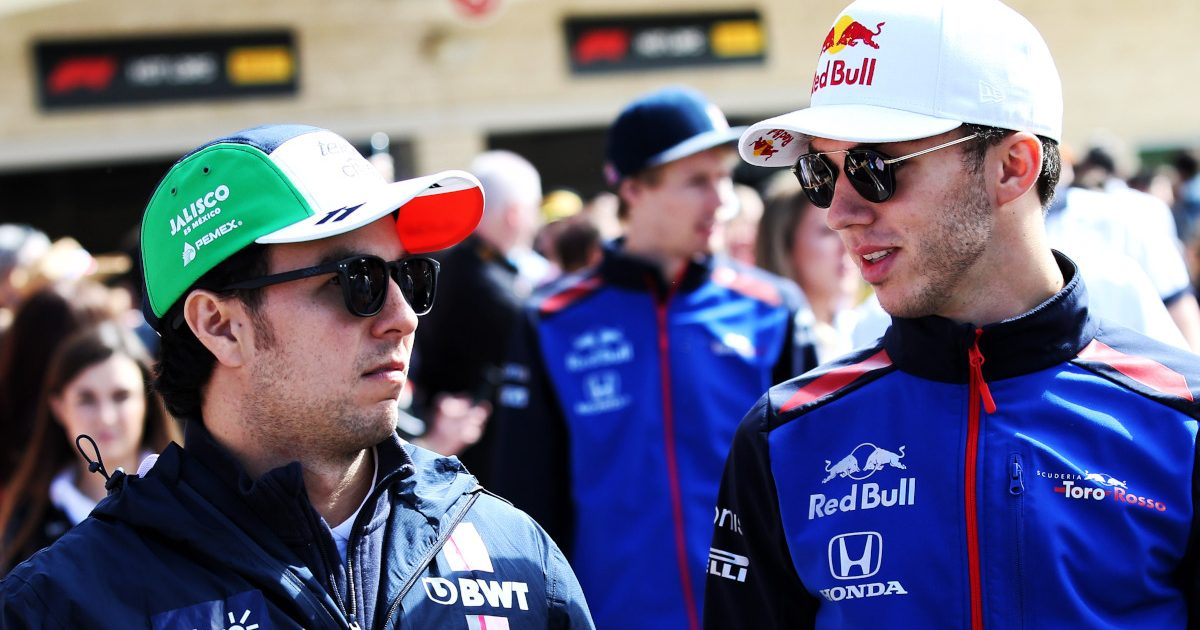 Sergio Perez and Pierre Gasly