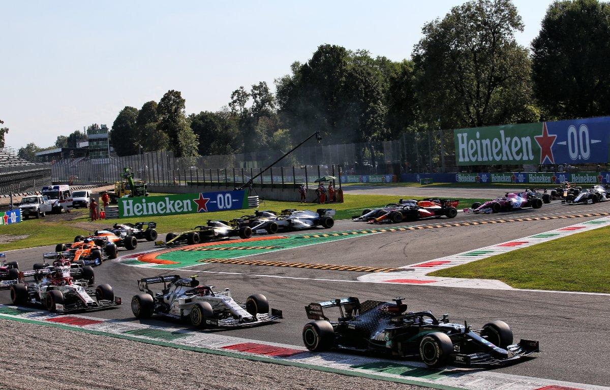 Italian Grand Prix grid