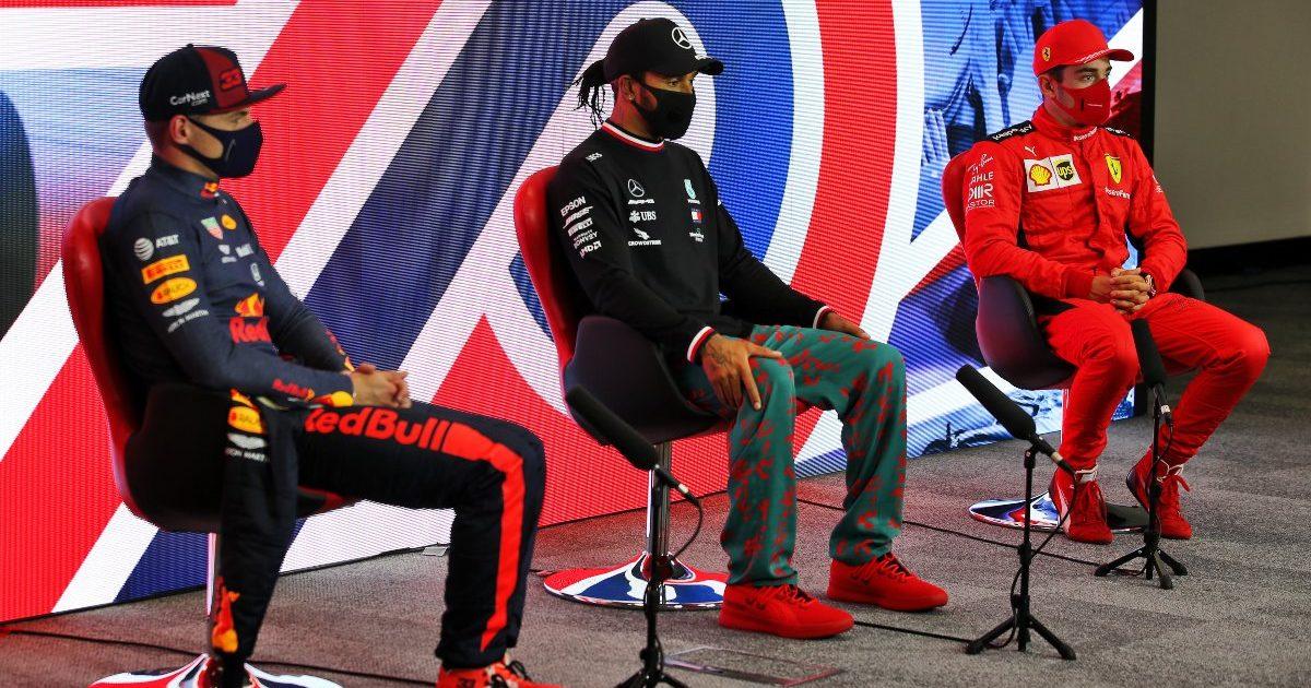 Max Verstappen Lewis Hamilton Charles Leclerc