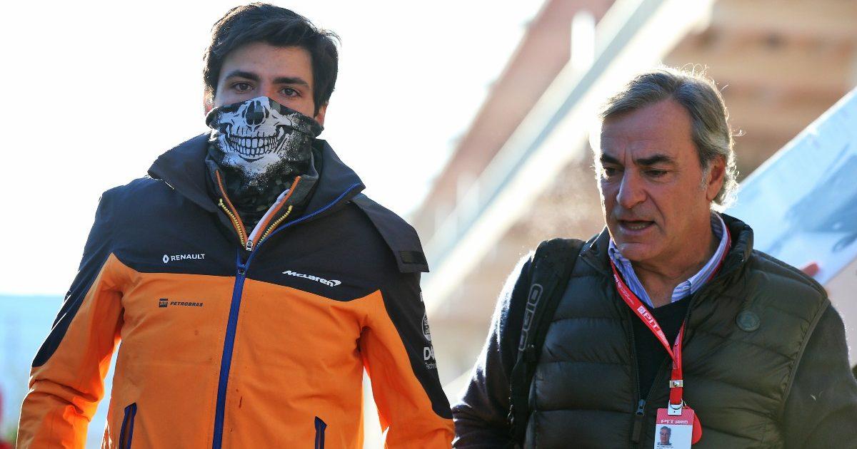 Carlos Sainz and father
