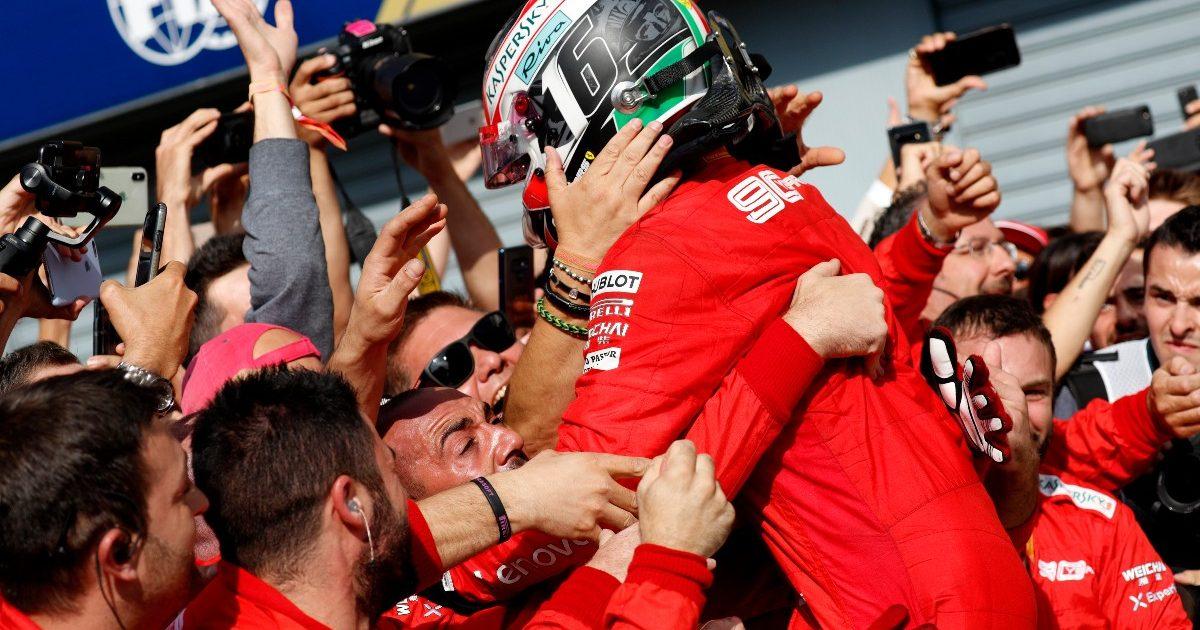 Charles leclerc Ferrari 2019 Italian Grand Prix