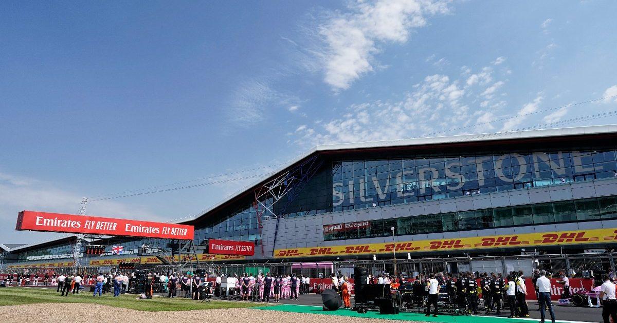 Silverstone F1 PA