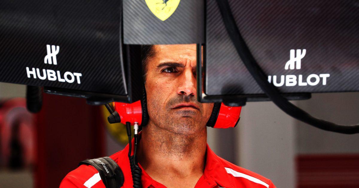 Marc Gene (ESP) Ferrari Test Driver.