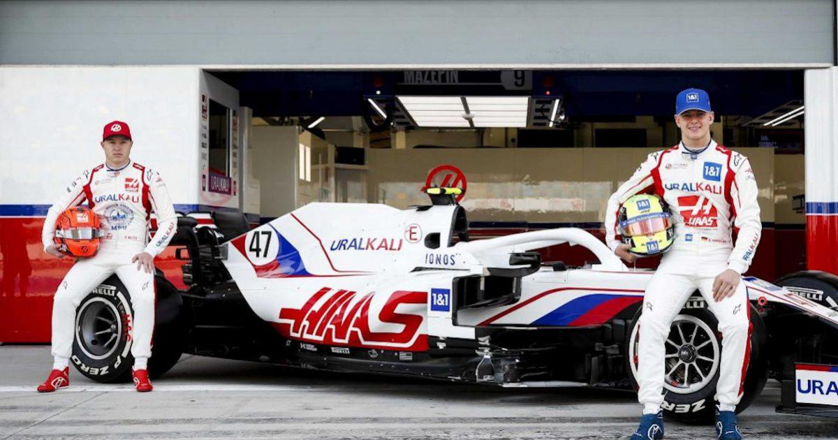 Haas launch VF21