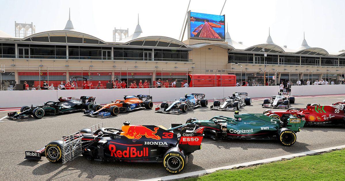 F1 2021 testing