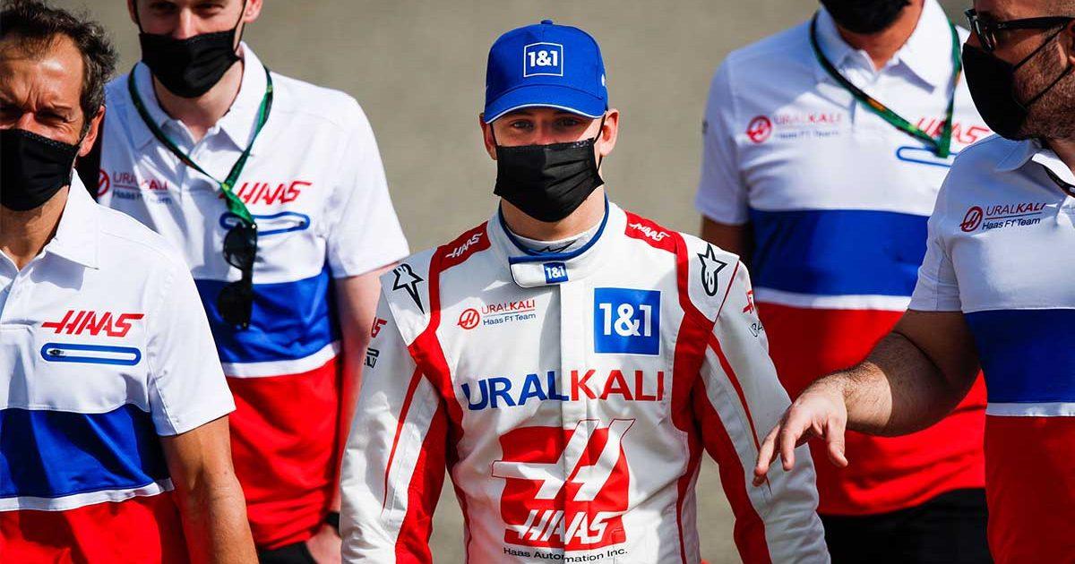 Mick Schumacher Haas PA