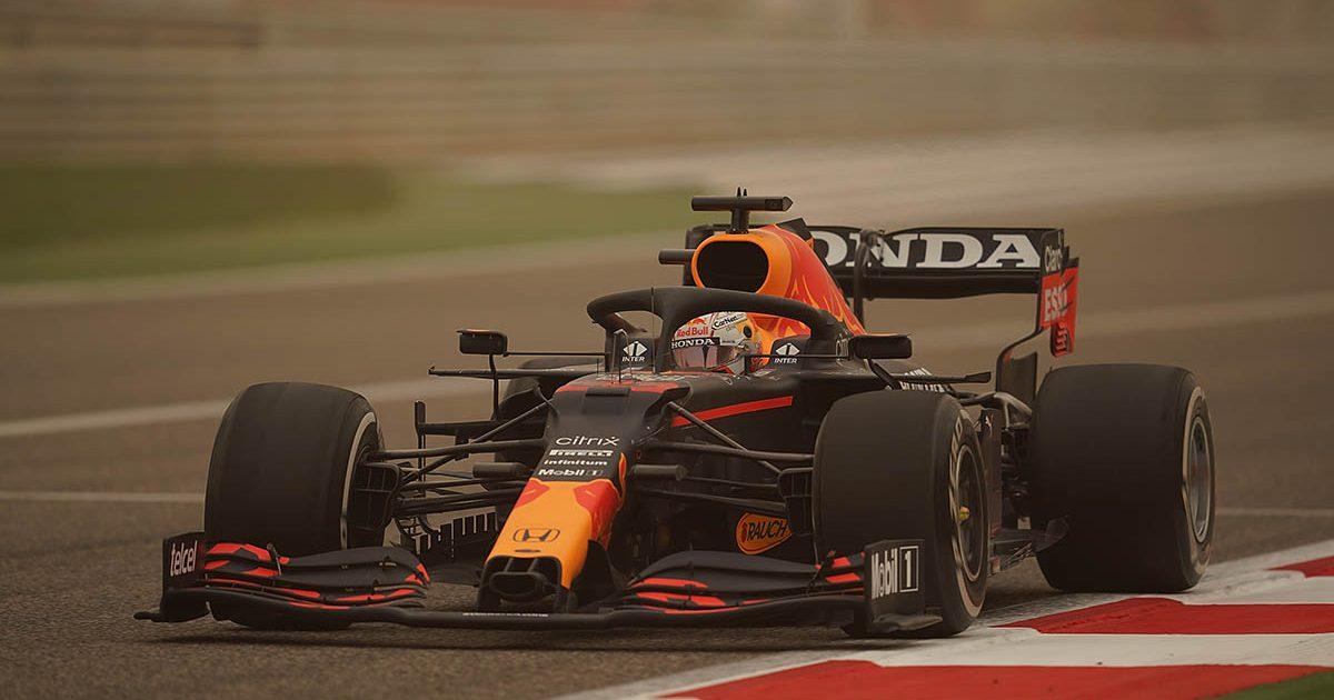 Max Verstappen Red Bull F1 Testing