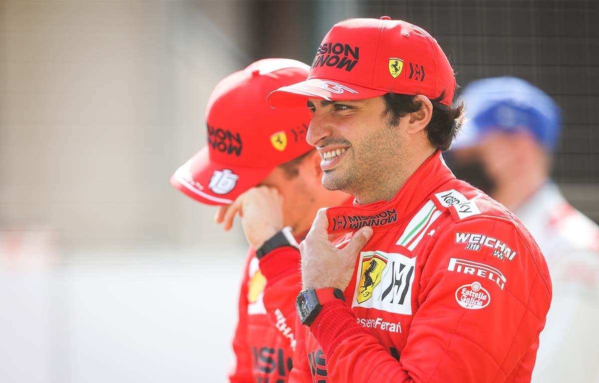 Carlos Sainz Ferrari PA