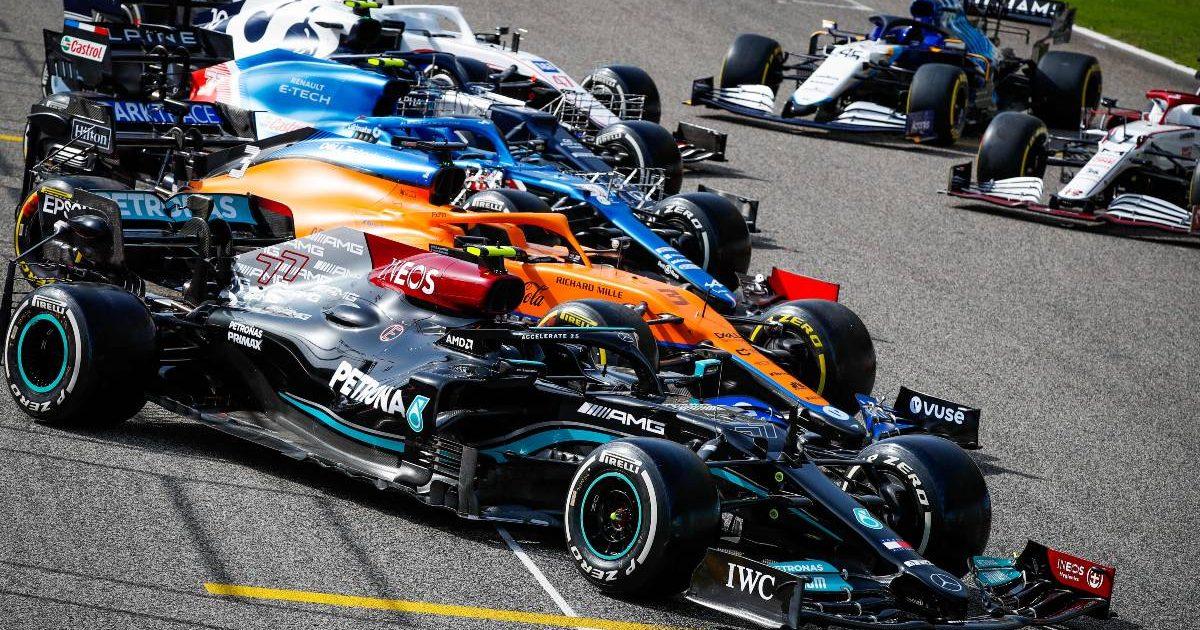 Bahrain grid pre-season F1 2021 testing