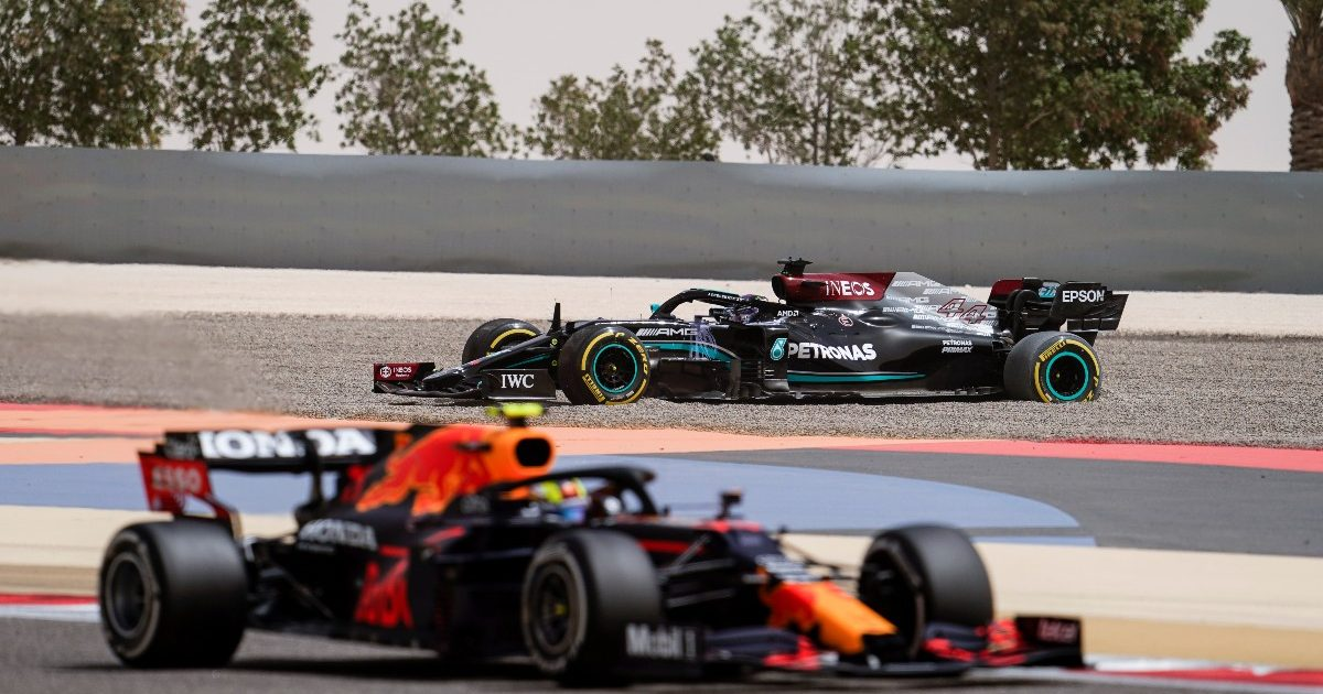 Lewis Hamilton Mercedes Sergio Perez Red Bull