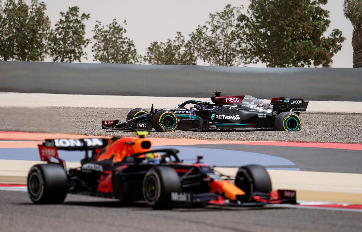 Lewis Hamilton Sergio Perez