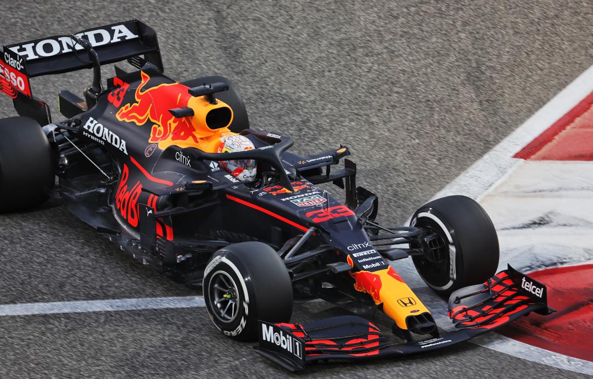 Max Verstappen Red Bull RB16b
