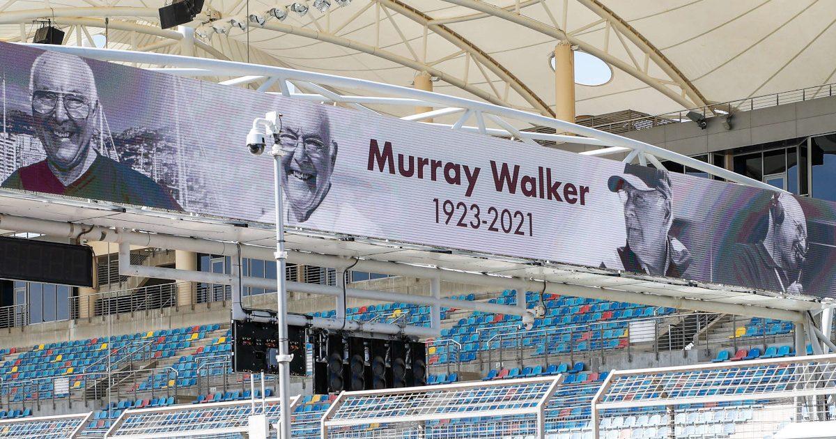 Murray Walker banner