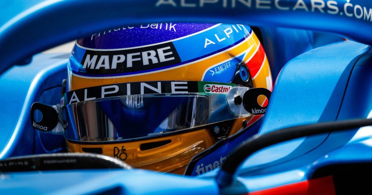 Fernando Alonso 2021 helmet de meo