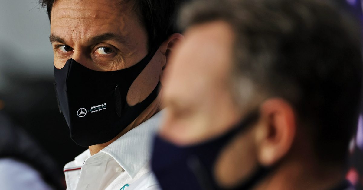 Toto Wolff and Christian Horner