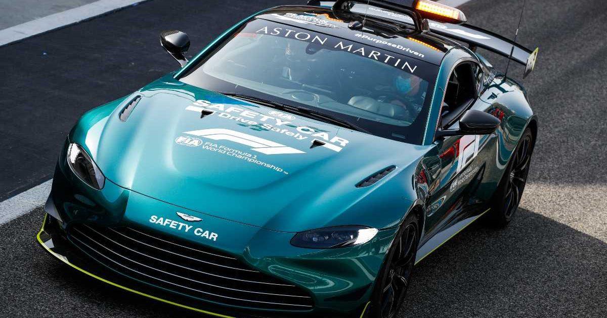 2021 Aston Martin Vantage Safety Car